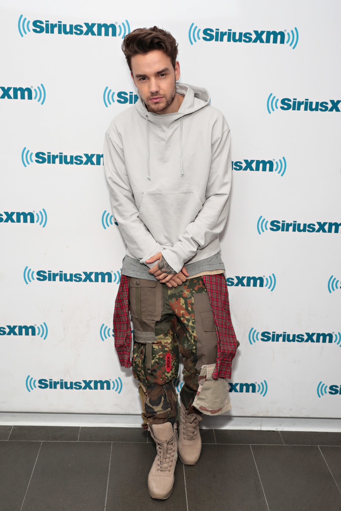 SPOTTED: Liam Payne In Ronald Van Der Kemp Pants And Fear Of God Military Sneakers