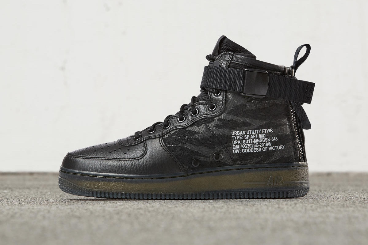 Nike Reveals SF-AF1 Mid Release Date