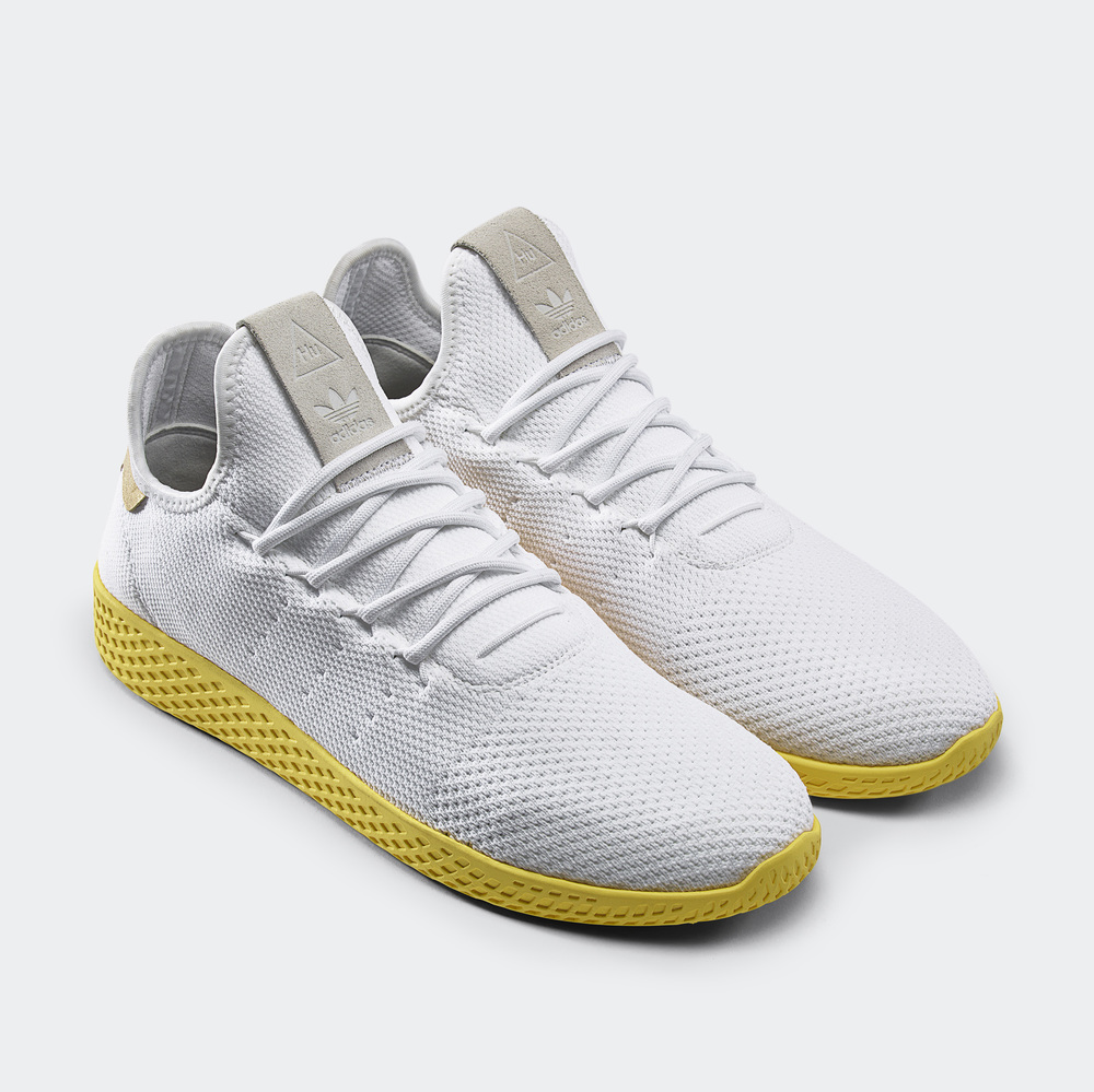 Adidas Tennis HU. Inspired by the original, reimagined by Pharrell