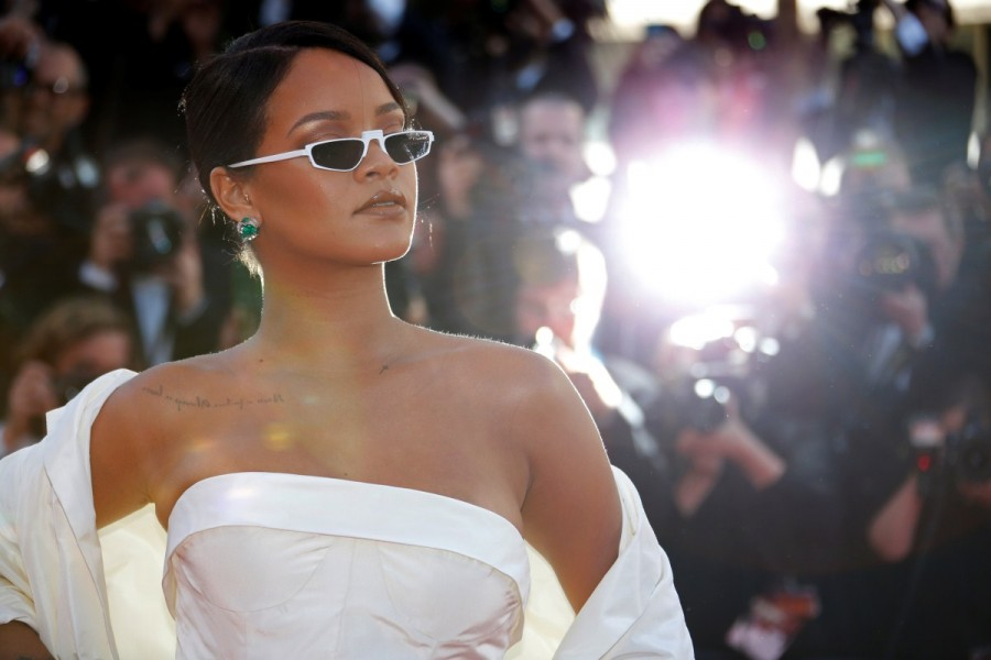SPOTTED: Rihanna In ANDY WOLF EYEWEAR At Cannes Film Festival
