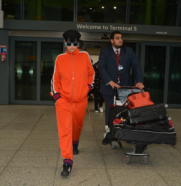 SPOTTED: Rita Ora Wears Gucci Tracksuit And Adidas Sneakers