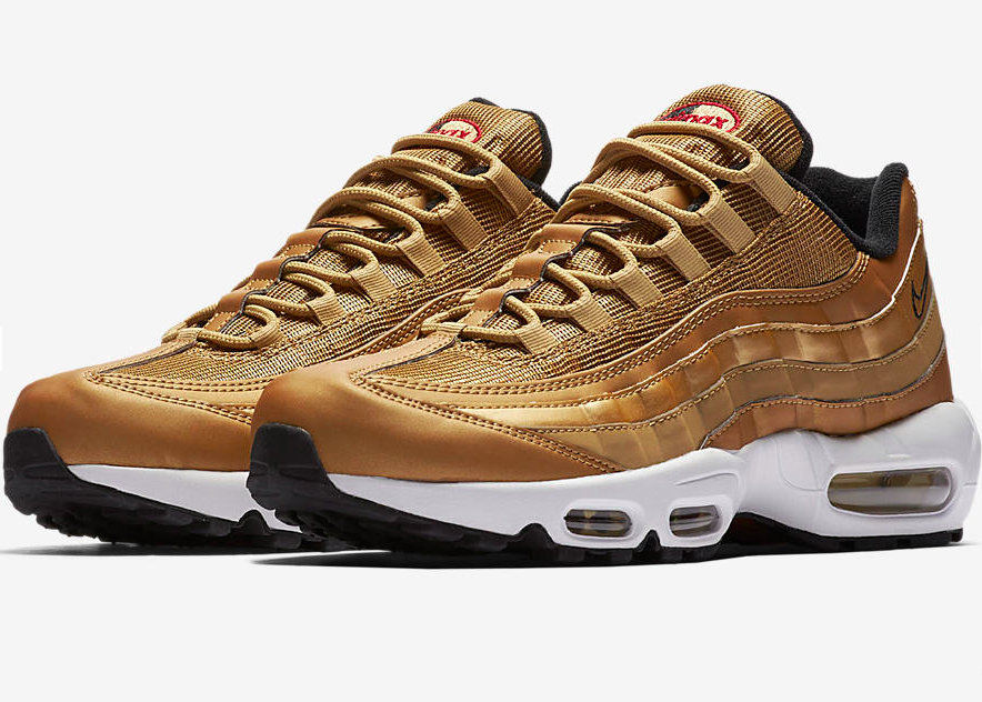 Nike set to release Gold Rush Air Max 95's