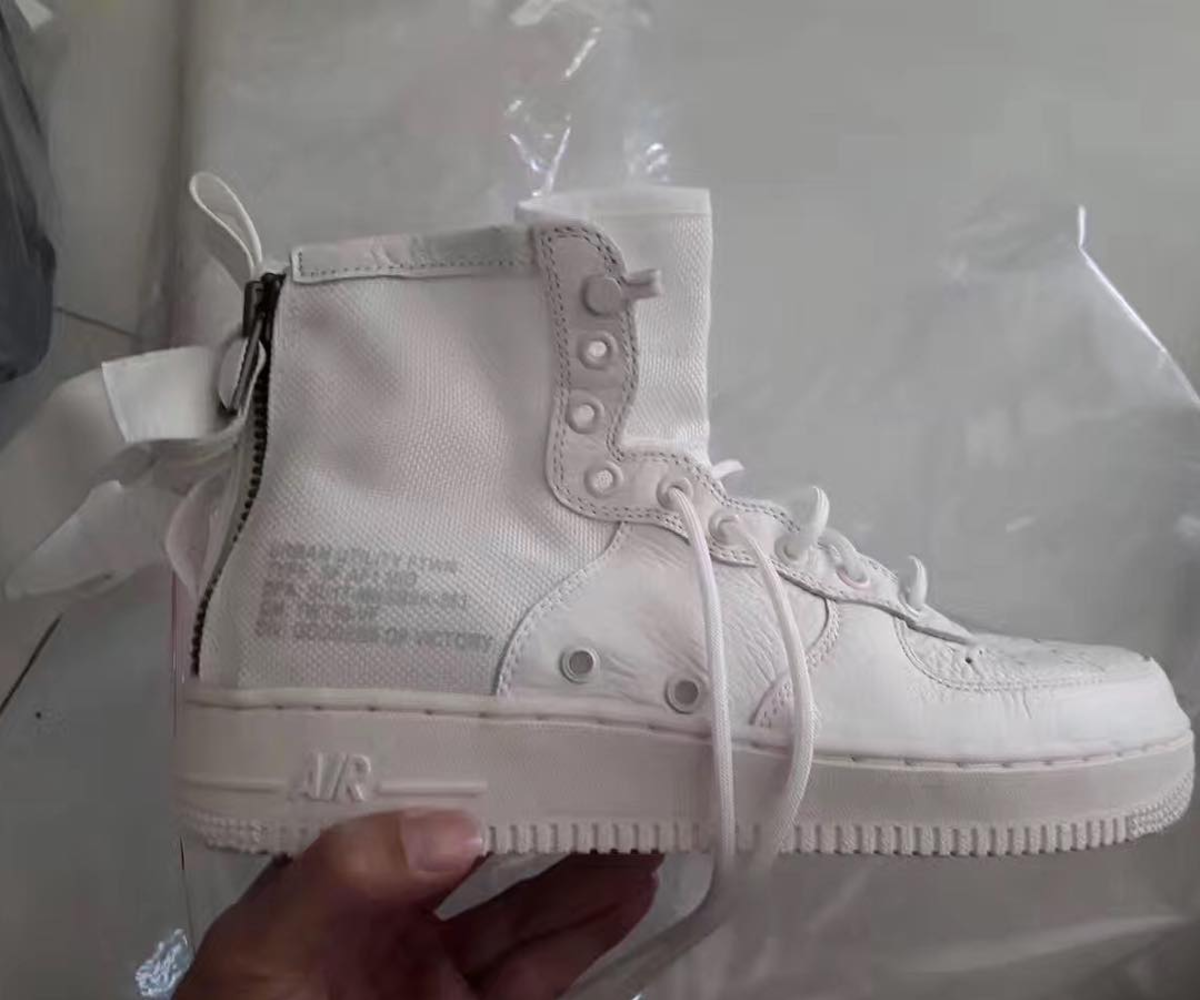 Leaked: Nike Set to Release A Shorter Version of the Special Field Air Force 1
