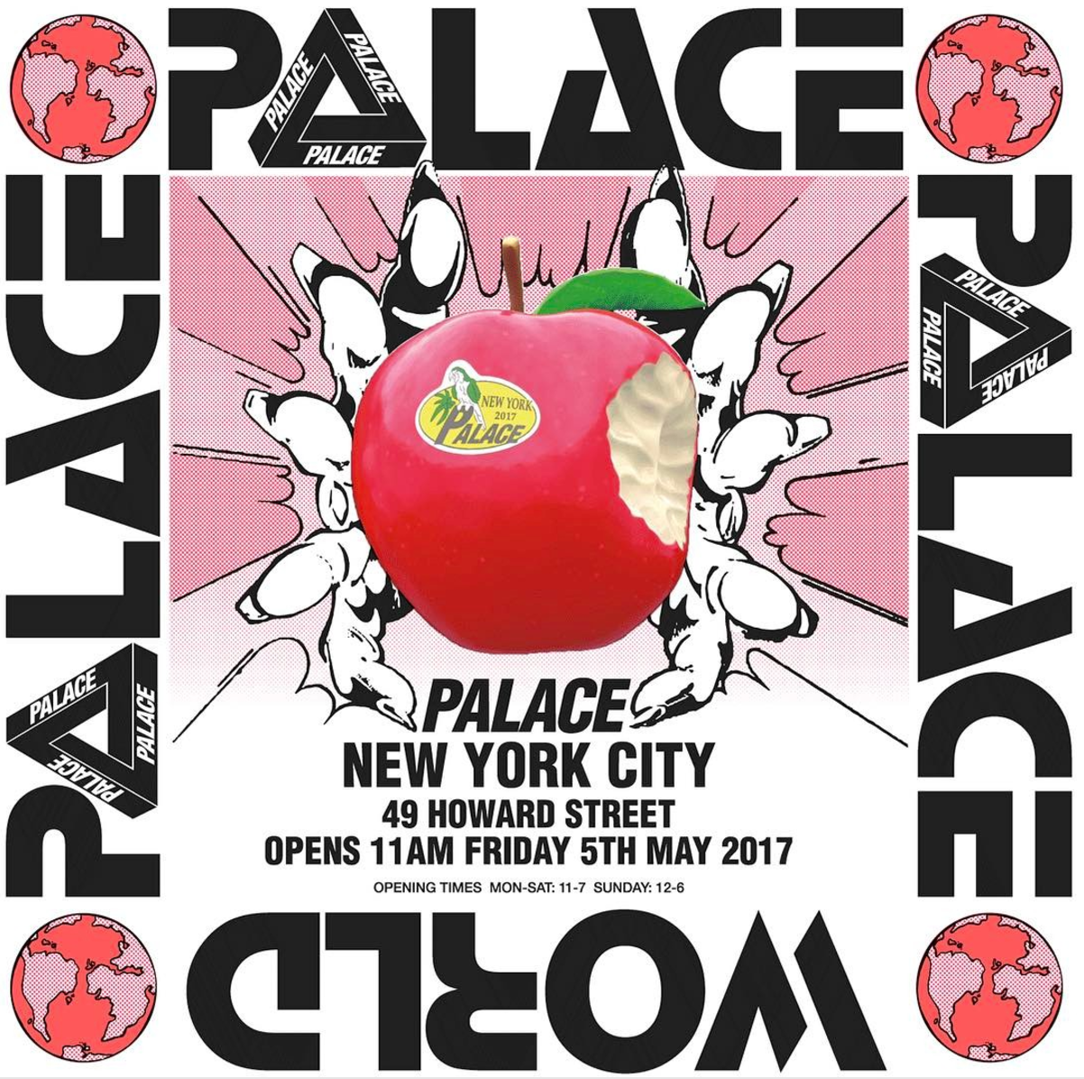 Palace Announce New York Store Location