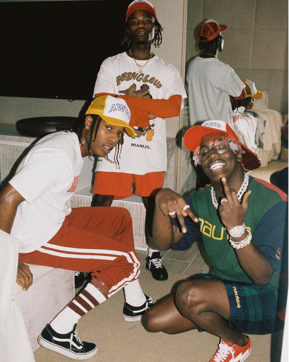 SPOTTED: A$AP Rocky, Lil Yachty And Ian Connor In Vans And Nautica