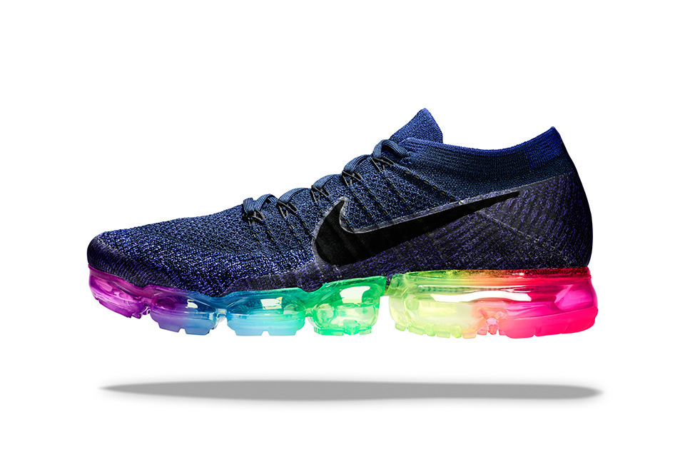Nike is releasing a Rainbow VaporMax for Pride Month