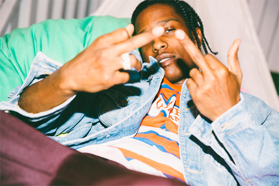 A$AP Rocky for GIRL HOUYHNHNM