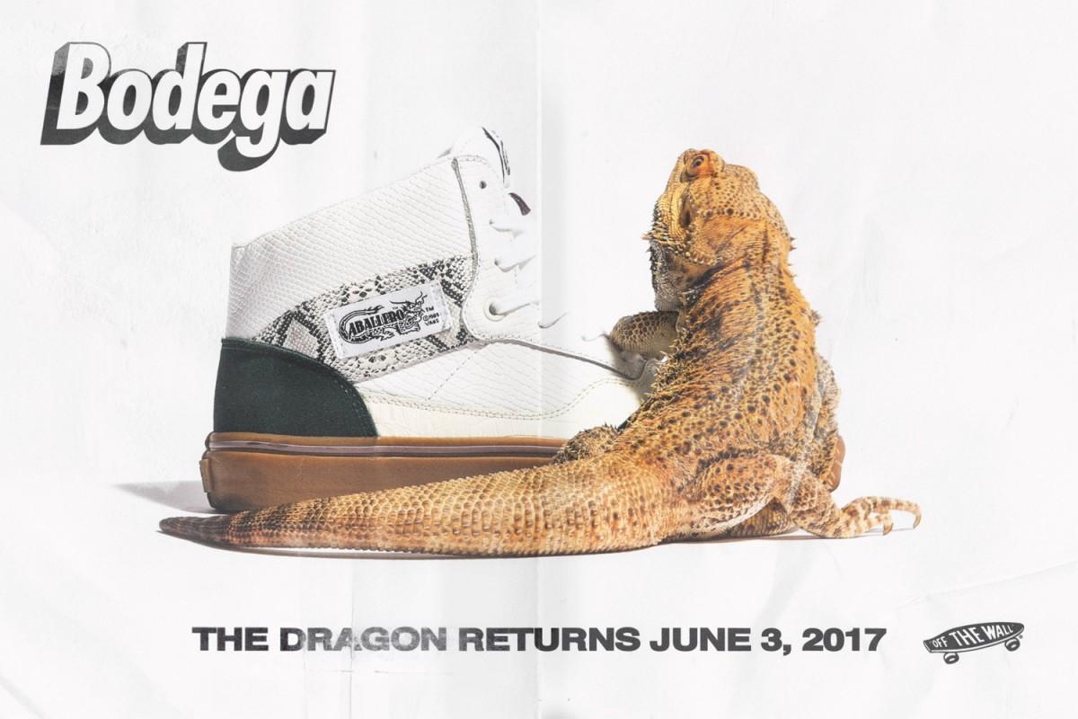 """Bodega x Vans """"Return of the Dragon"""" Pack"""