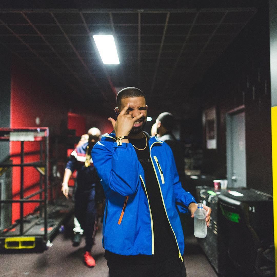 SPOTTED: Drake in Prada Jacket and Hermes Bracelet