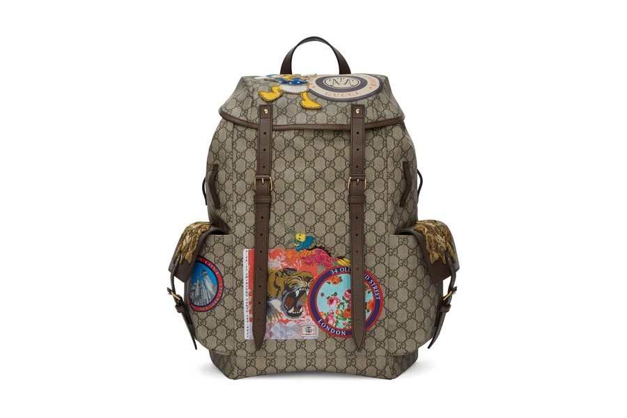 Gucci Features Donald Duck On Their New Backpack