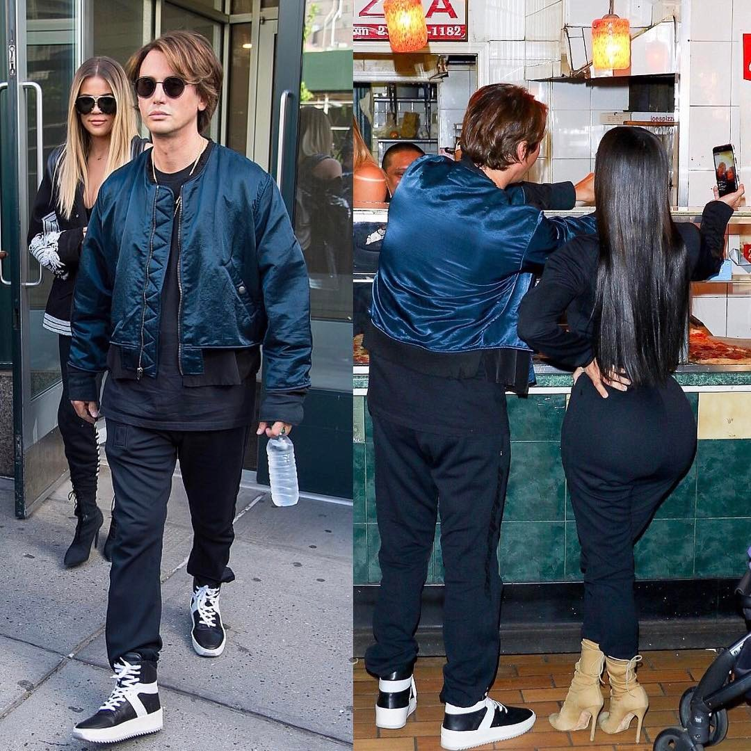 SPOTTED: Jonathan Cheban in Longjourney Jacket and Fear of God Sneakers