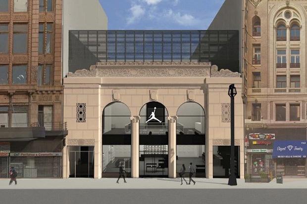 Jordan Brand New LA Flagship in Historic Broadway Building