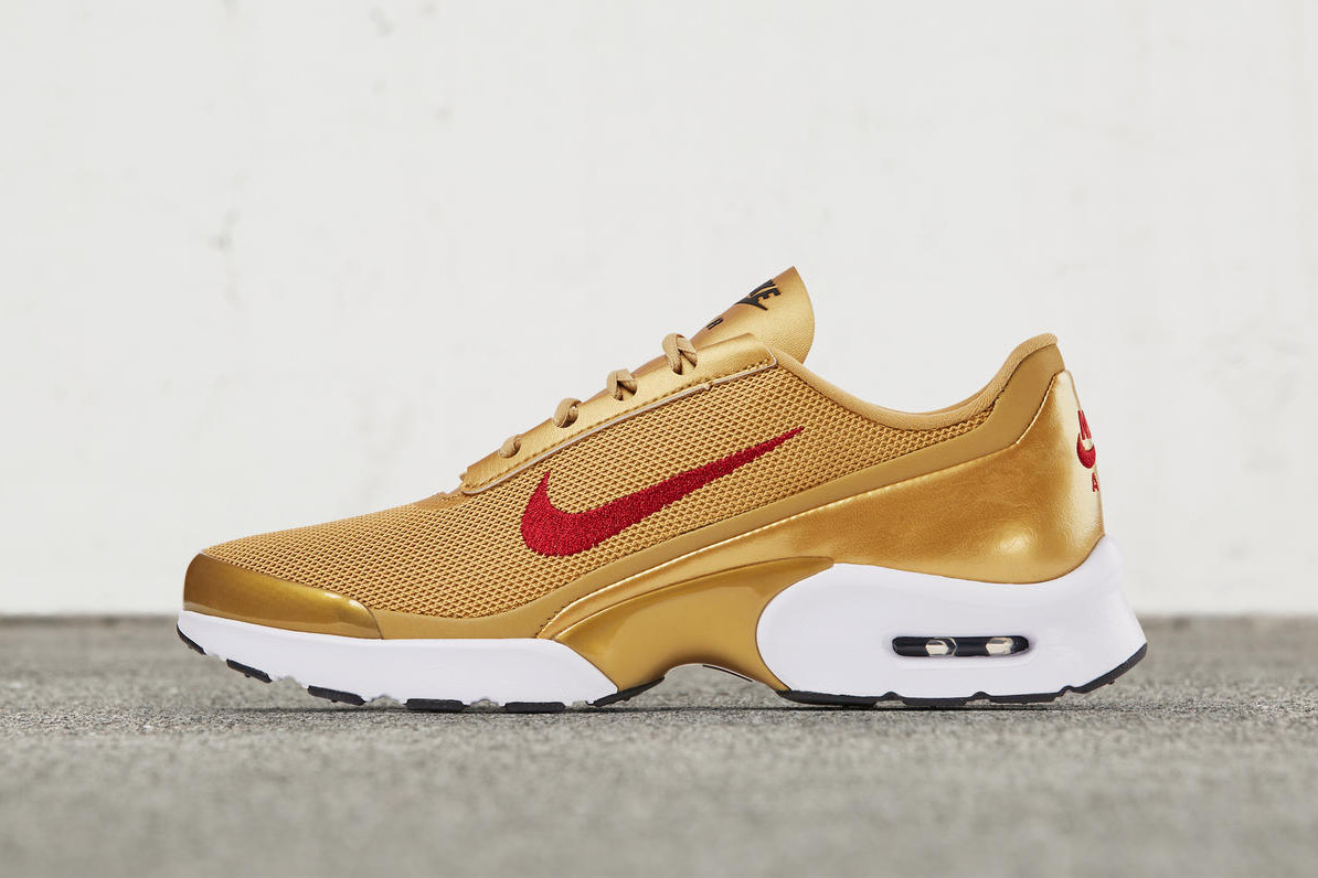 Nike's Air Max Gets A Gold Luxe Make Over