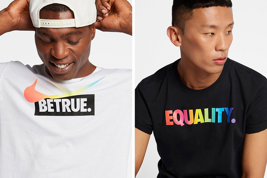 """Check Out Nike's Rainbow """"Be True"""" Collection"""