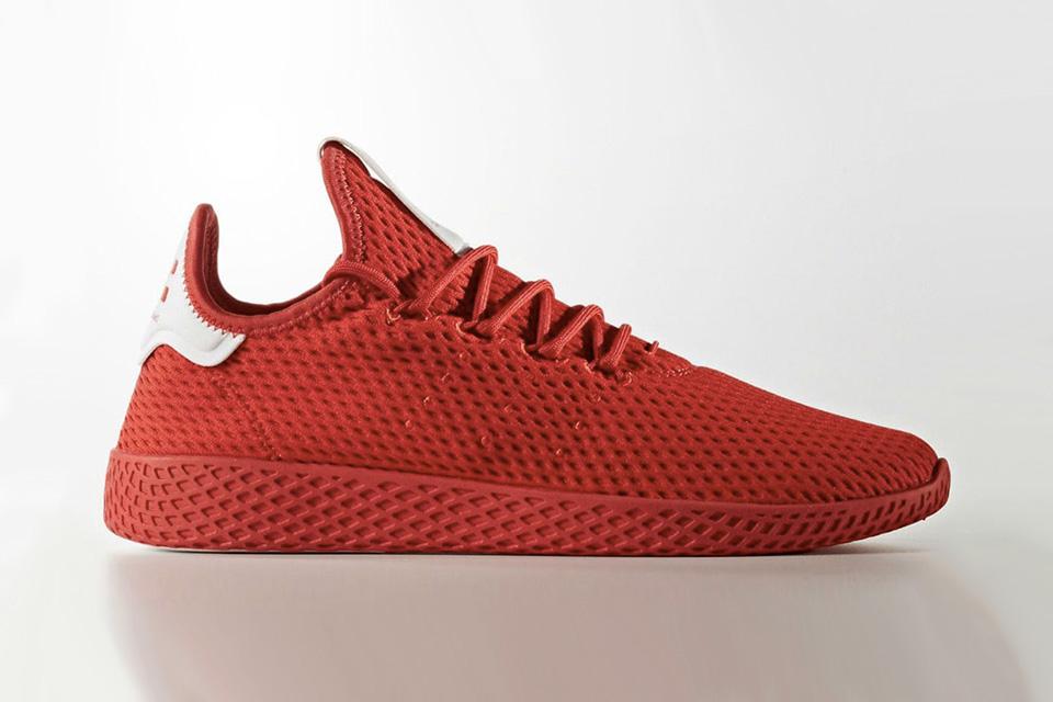 Pharrell x adidas' Tennis Hu New Colourways