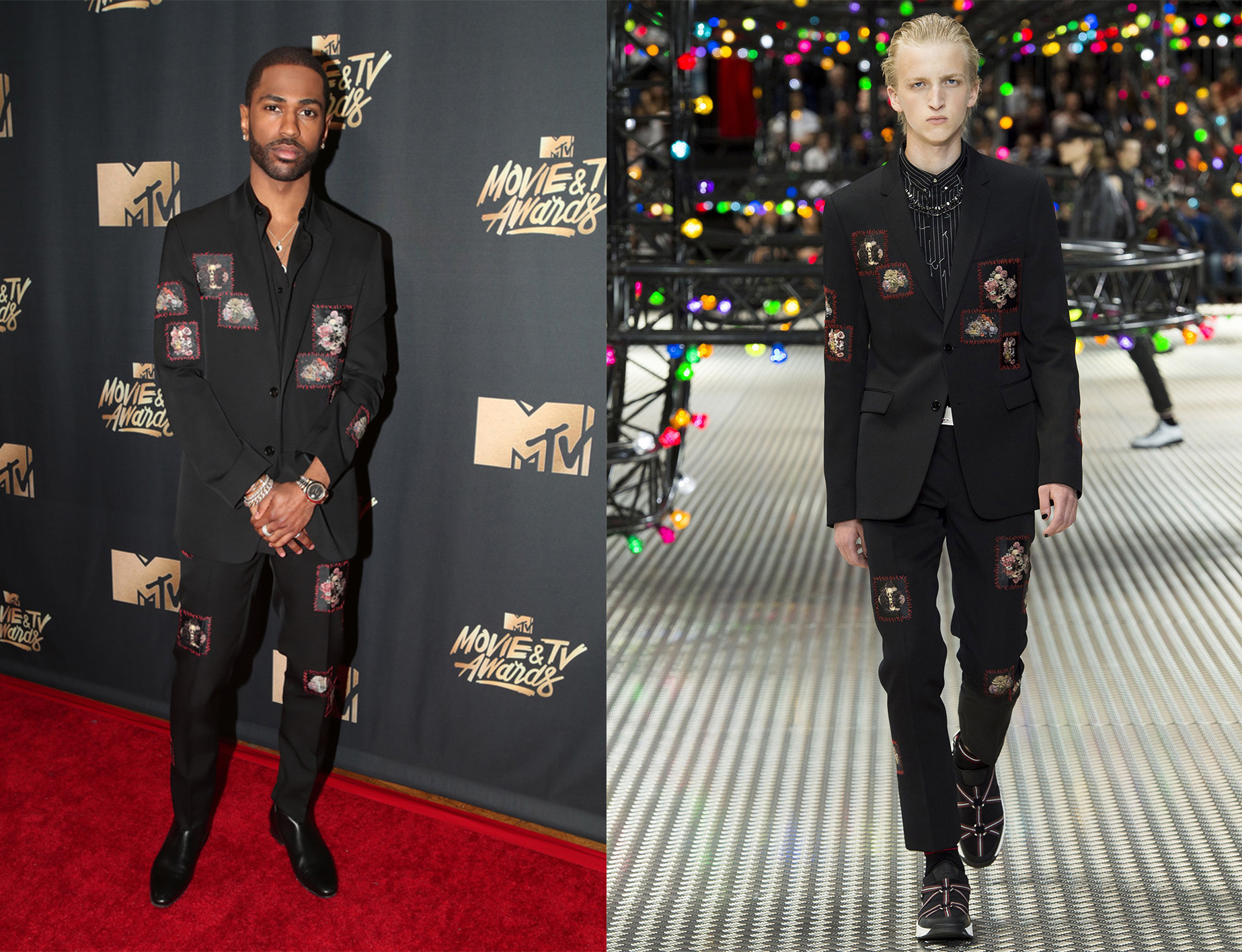SPOTTED: Big Sean in Dior Homme at MTV Movie & TV Awards