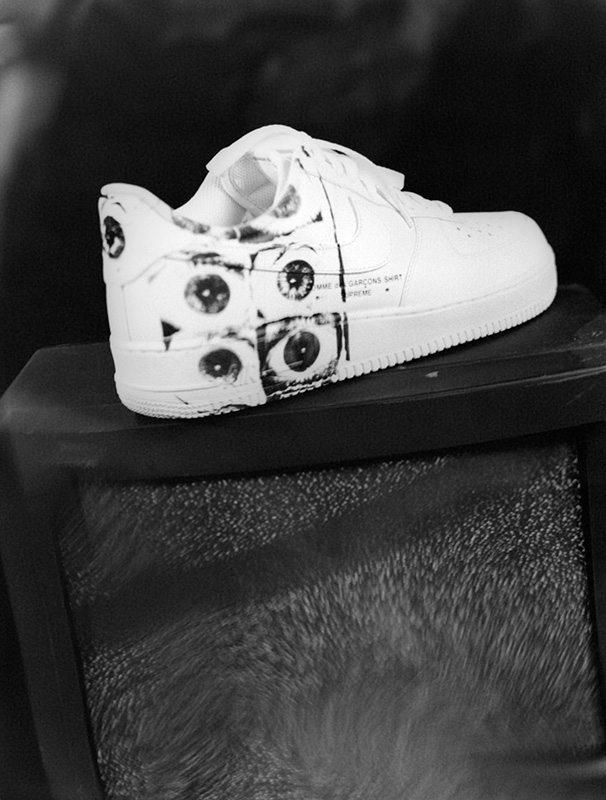 Supreme x Comme des Garçons SHIRT® Nike Air Force 1 Low Drops Tomorrow