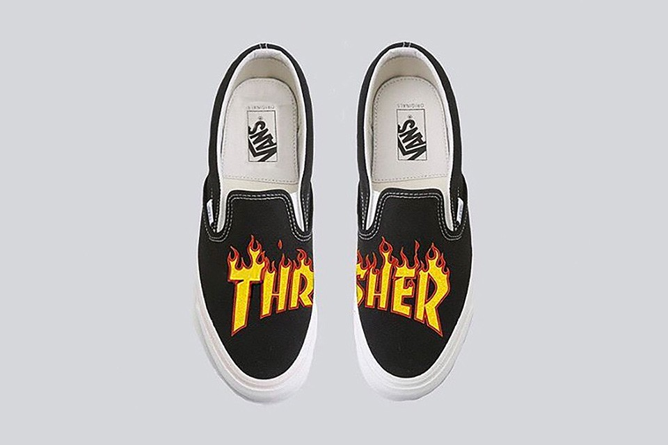Rumoured Thrasher x Vans Collab Images Leaked Online