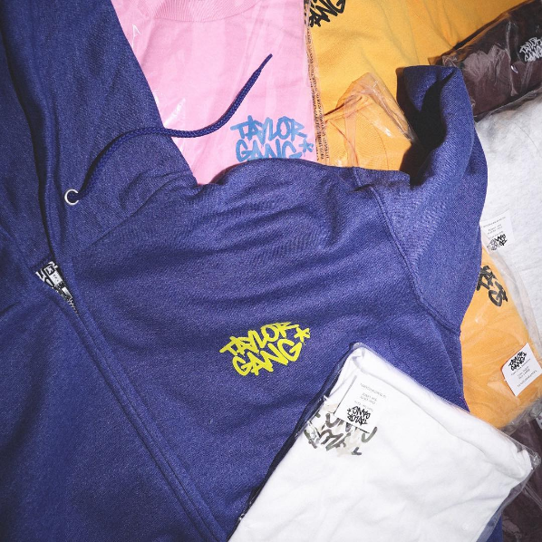 Wiz Khalifa Releases New Taylor Gang Clothing