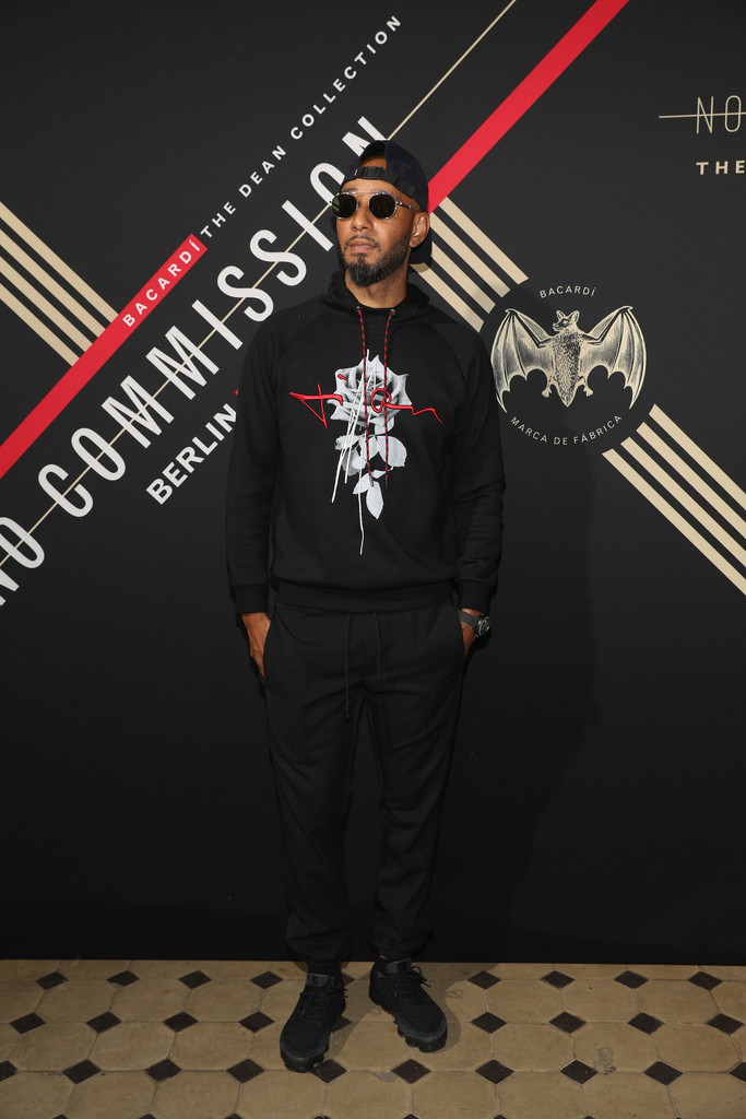 SPOTTED: Swizz Beatz wears Dior Homme hoodie and Nike Vapourmax