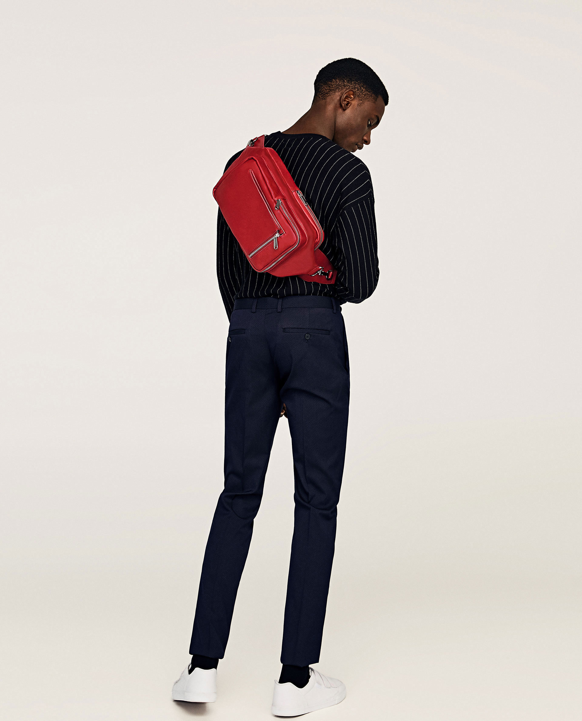 PAUSE Of The Week: Zara Red Black Crossbody Bag