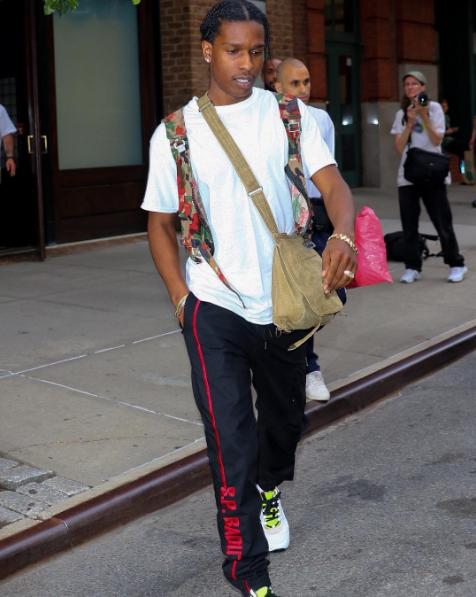 SPOTTED: A$AP Rocky Wears S.P. BADU Joggers