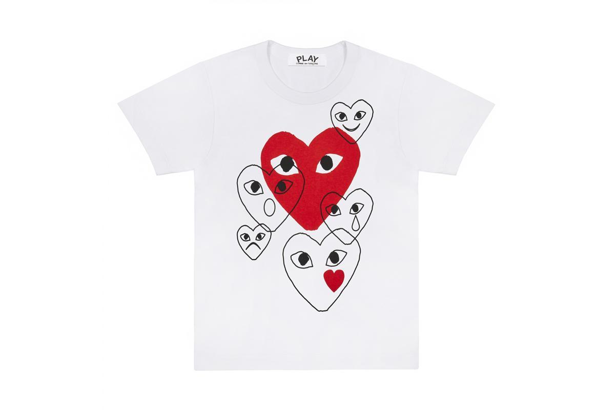 COMME des GARÇONS PLAY Release New T-Shirt Range