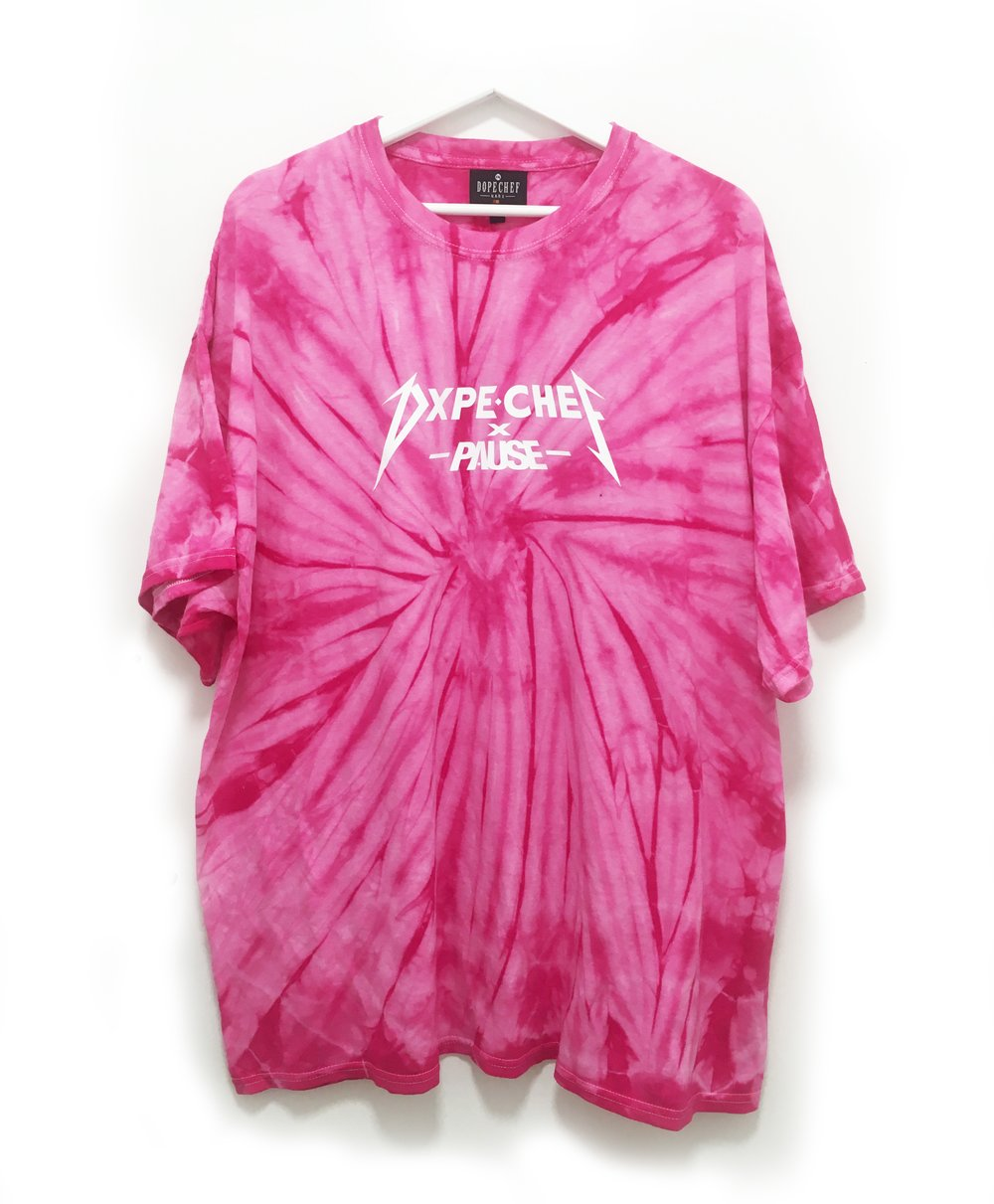 PAUSE x Dope Chef Pink Vortex Collab Launches
