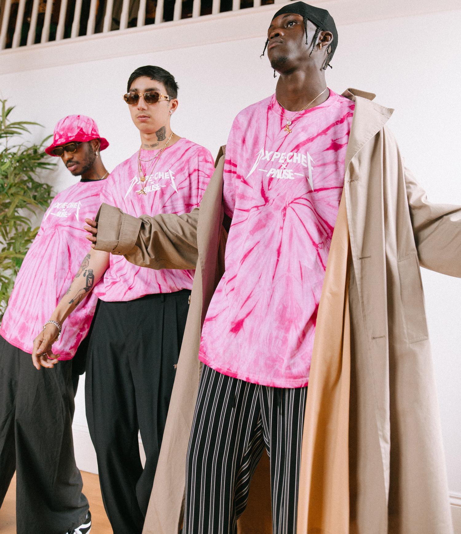 PAUSE x Dope Chef Editorial: Pink Vortex Tie Dye