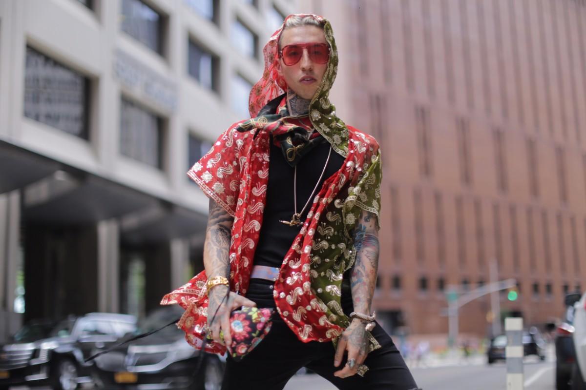 Street Style Shots: New York Fashion Week Men's Day 1