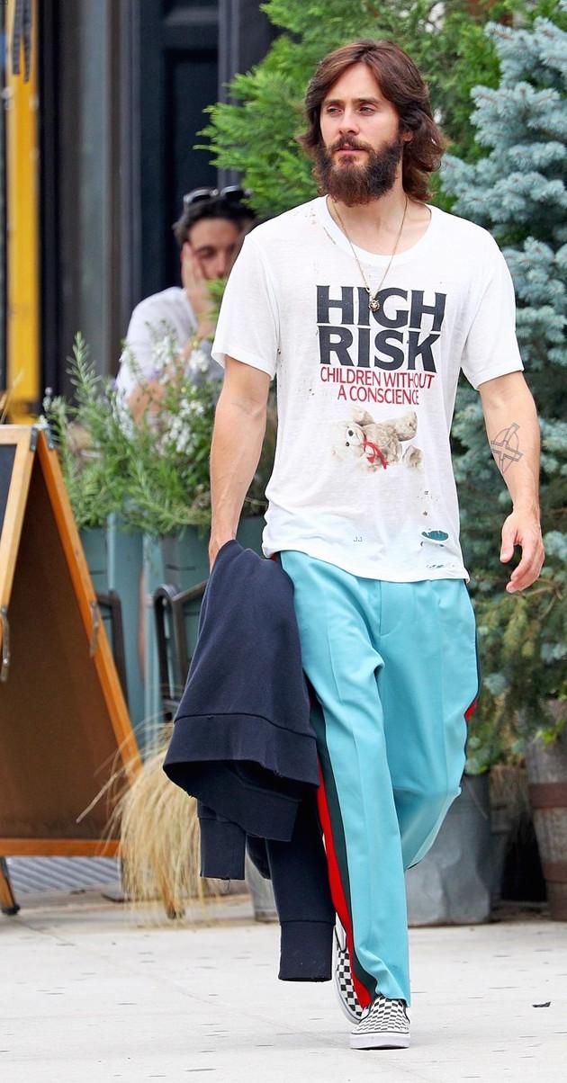 SPOTTED: Jared Leto Wears Enfants Riches Déprimés, Gucci & Vans