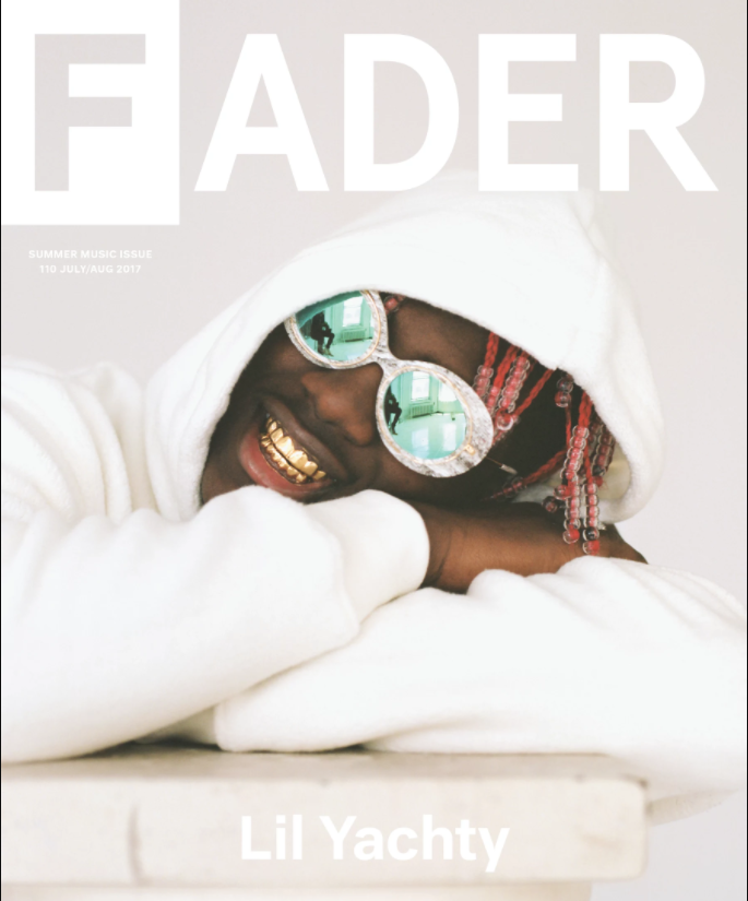 Lil Yachty Covers The FADER Magazine