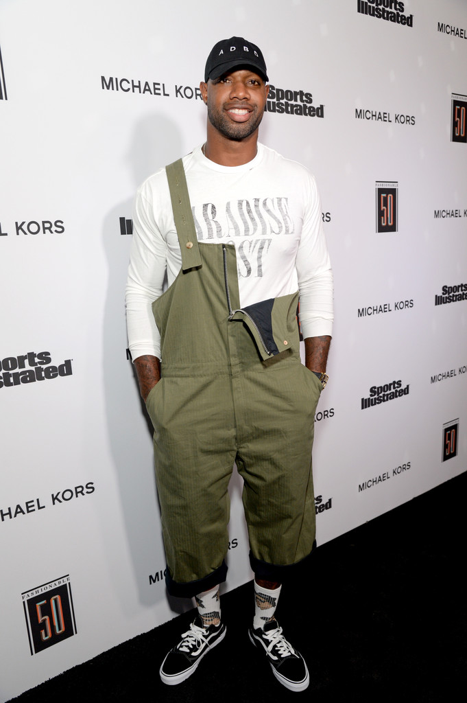 SPOTTED: Marcedes Lewis In Paul Harnden Shoemakers Overalls, Alchemist T-Shirt and Vans