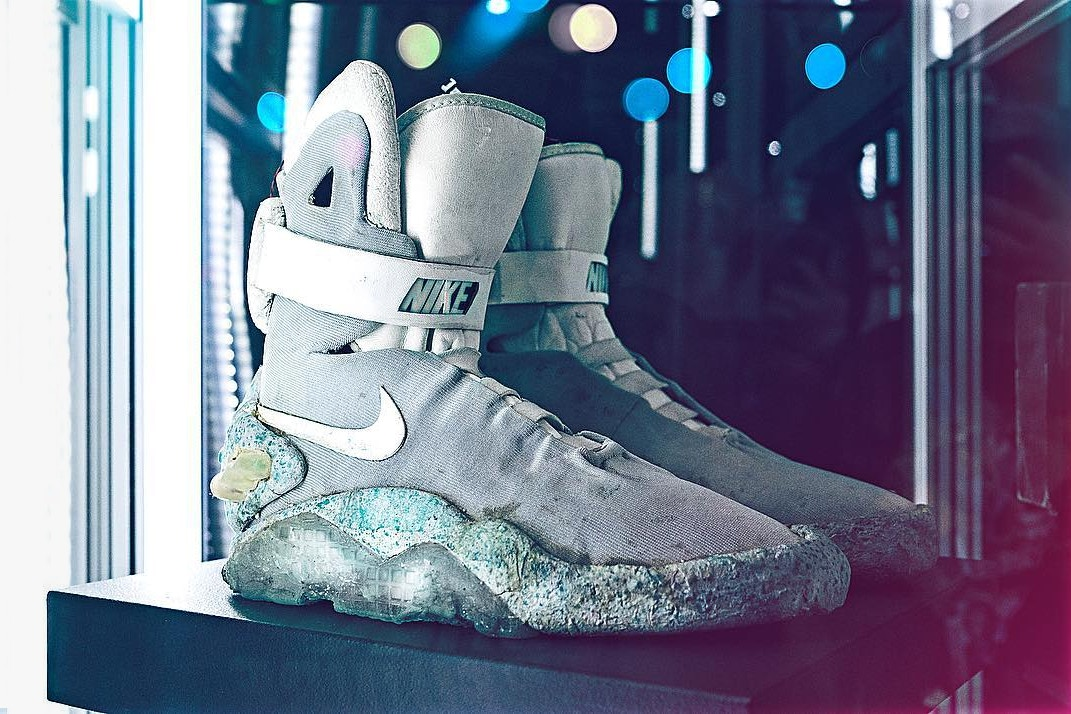 The OG Nike MAGs from 1989 are being auctioned