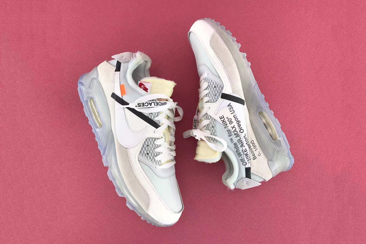 A Look At The Leaked OFF-WHITE x Nike Air Max 90
