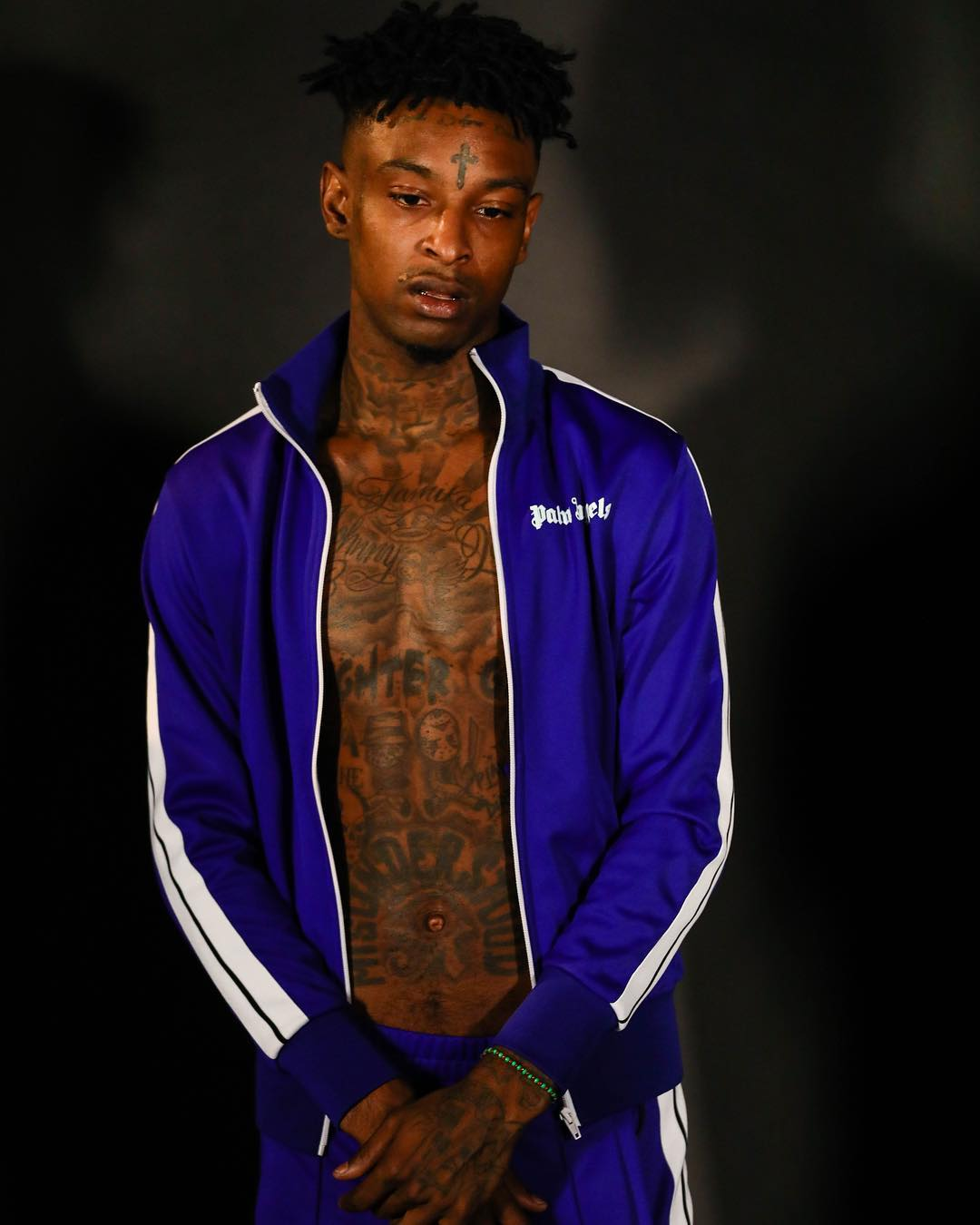 Get the Look: 21 Savage in Palm Angels