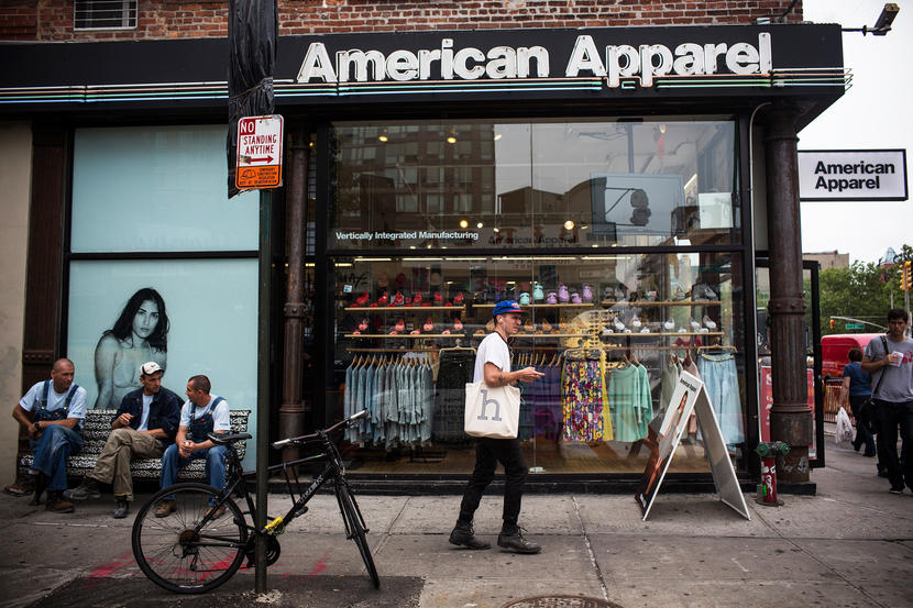 American Apparel Relaunches Online Store