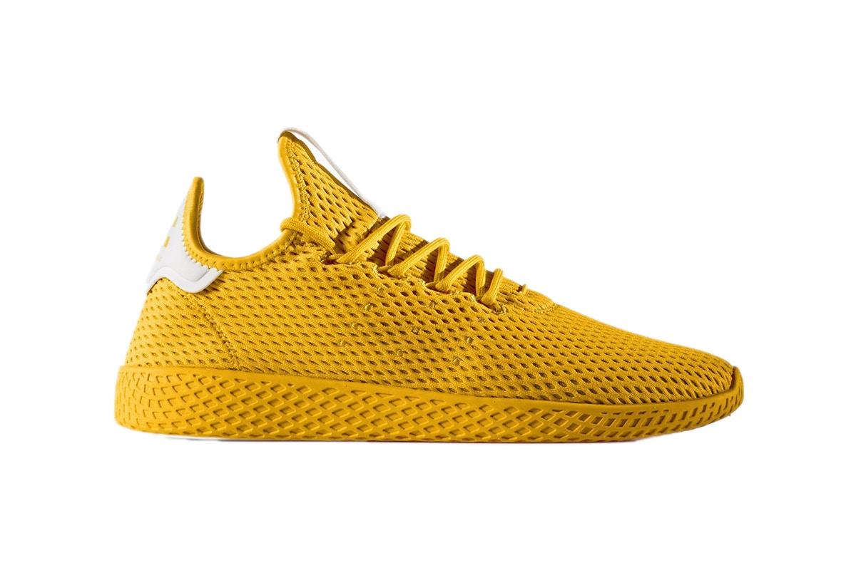 "adidas Originals And Pharrell Williams Announce Tennis Hu ""Solid"" Pack"