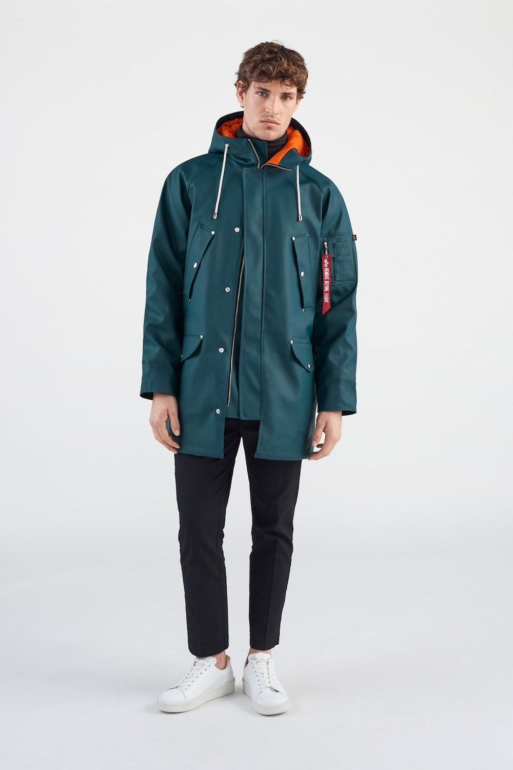 Alpha Industries x Stutterheim Announce Outerwear Capsule Collection