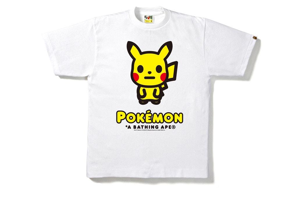 BAPE x Pokémon Announce Capsule Collection And Pop Up