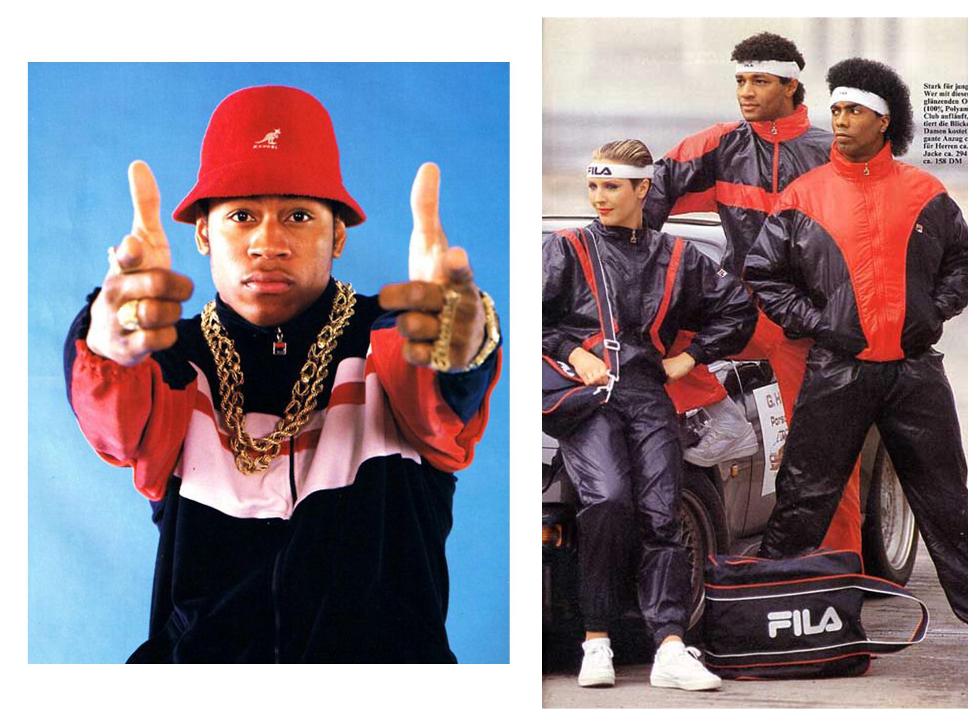 The Return of Old School Hip-Hop Streetwear