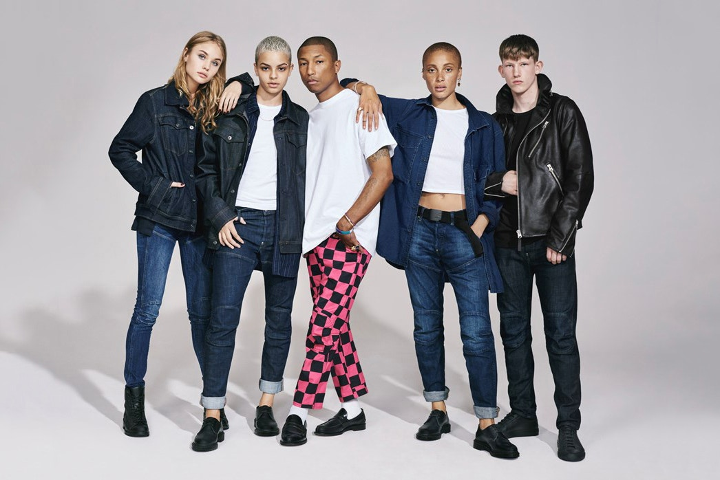 G-STAR RAW's Fall/Winter 2017 Campaign headed by Pharrell