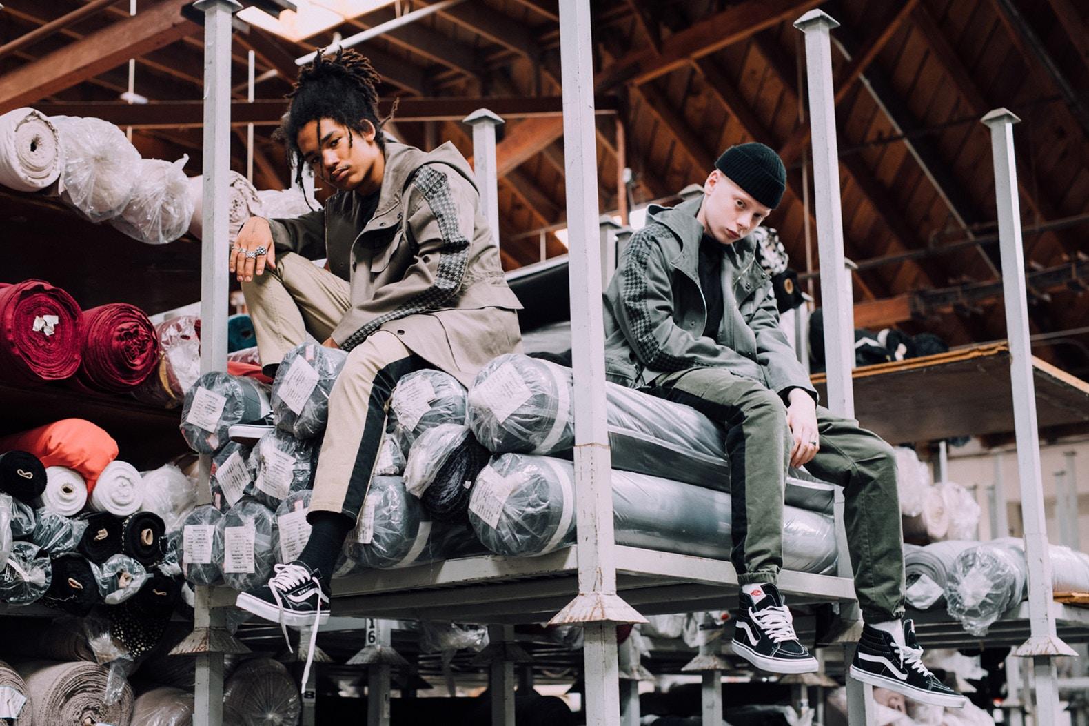 KONUS Brand Release Autumn/Winter 2017 Lookbook Featuring Luka Sabbat And Leo Mandella