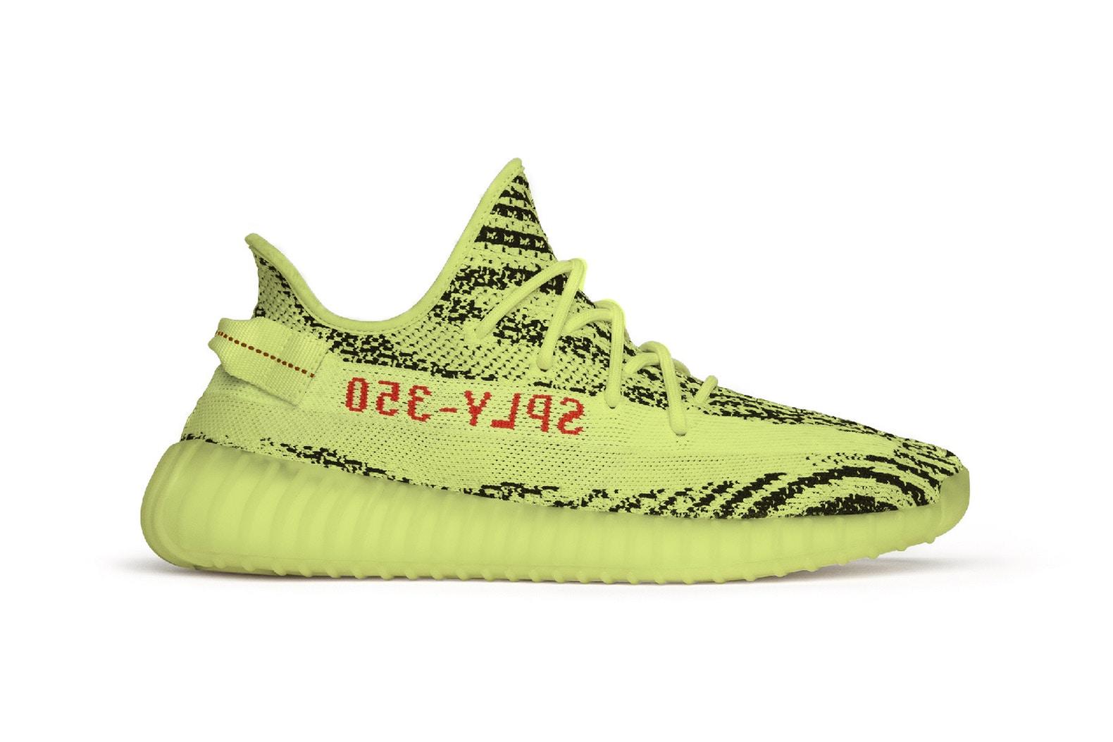Kanye Wears The adidas YEEZY Boost 350 V2 In Unreleased 'Semi Frozen Yellow' Colourway