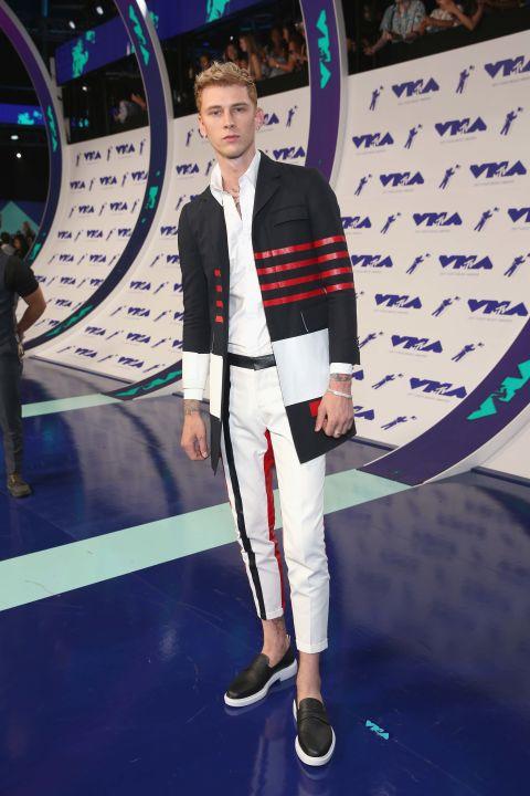 Red Carpet: VMAs Red Carpet Men's Style