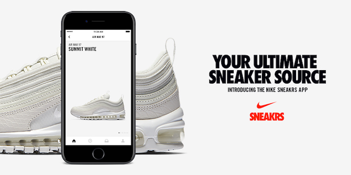 Nike Launches SNEAKRS app in Europe