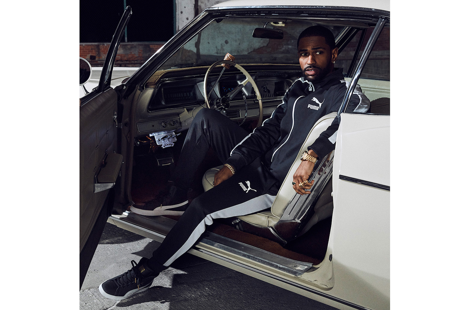 PUMA Release Clyde Mid 'Foil' Campaign With Big Sean