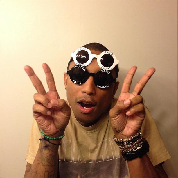 GUCCI Recreate's Pharrell's Chanel Round-Frame Sunglasses