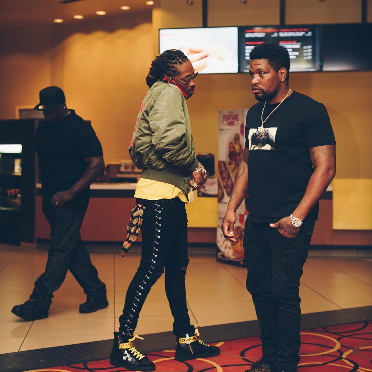 SPOTTED: Future in Anti Social Social Club & OFF-WHITE Sneakers