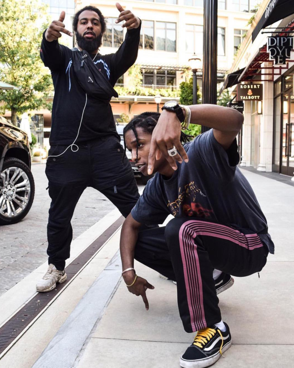 SPOTTED: A$AP Rocky In Nepenthes Tokyo Pants And Vans Sneakers